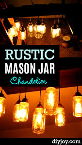 rustic mason jar chandellier p