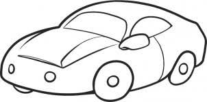 cars drawings for kids. Delighful For Here Is The Last Step And As You Can See This A Finished Drawing Of Car  For Kids Color It In Then Are All Done To Cars Drawings For Kids