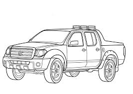 ford truck coloring pages 8
