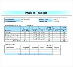 Excel Template For Project Tracking Excel Task Tracking Template Gotostudy Info