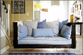 How To Build A Porch Swing Crib Mattress Porch Swing Sawdust 2 Stitches