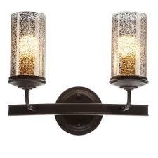 sea gull lighting sfera 14 in w 2 light autumn bronze wall bath vanity light with mercury glass