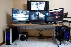office computer setup. ultra cool computer setups and desktops office setup a