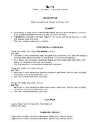 general resume free general resume templates tehly templates