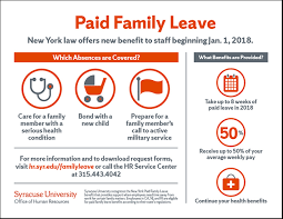 New Paid Family Leave Benefit For Staff Effective Jan 1