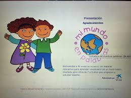 ... URL: http://cvc.cervantes.es/ensenanza/mimundo/ Resumen: Este sitio web  es muy activo, lleno de muchas actividades y recursos diferentes que  podran ser ...