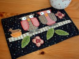 Mug Rug Patterns Delectable Get On Trend With Quilted Mug Rugs