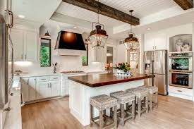 Modern farmhouse kitchen design Colonial Farmhouse Tour These 20 Modern Farmhouse Kitchens To Understand How The Farmhouse Style Really Does Work Well Blissful Nest Modern Farmhouse Kitchens For Gorgeous Fixer Upper Style
