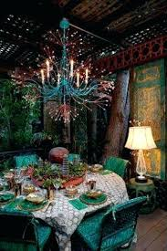 boho decorating ideas bright gypsy color hippie bohemian mixed pattern home decorating ideas chandelier by remains lighting bohemian bedroom ideas