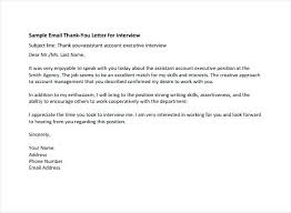 Thank You After Interview Template Thank You Letter After Interview Template For Form Excel