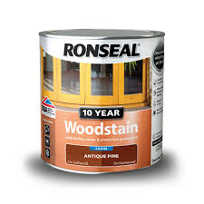 Ronseal Varnish Colour Chart 10 Year Wood Stain For Windows Doors Ronseal