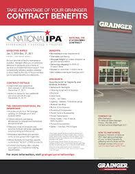 grainger contract discounts contract benefits