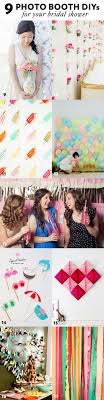9 photo booth diys for your bridal shower 41 more simple and stylish diy bridal