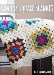Granny Square Blanket Pattern Impressive Patching Up My Granny Square Blanket Make And Takes