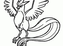 Small Picture Coloring Page Pokemon Pages Articuno Peruclass
