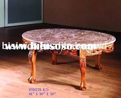oval marble top coffee table antique designs white