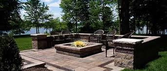 paver patio with fire pit.  Fire Patio Designs Fire Pit Throughout Paver With