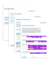 Incident Response Support Sc Report Template Tenable