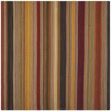 safavieh striped kilim gold 7 ft x 7 ft square area rug
