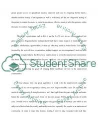 mission of the national health service essay example topics and   text preview