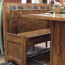 Diy Breakfast Nook Bench Diy Rustic Breakfast Nook With Storage Bench And Fold Up Door