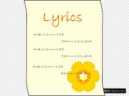 It's a place where all searches end! Lyrics Svg Vector Lyrics Clip Art Svg Clipart