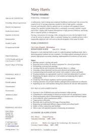 Resume Examples For Nurses Amazing Free Professional Resume Templates Free Registered Nurse Resume