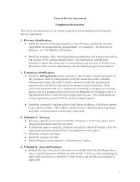 It Service Contract Template Free General Service Agreement Template By Banter General Contract For 3