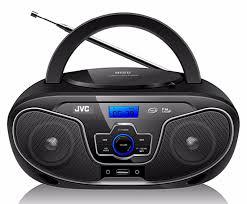 jvc-rdn327.jpg JVC RD-N327 Bluetooth Portable Radio and CD Player With USB