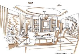 Decor Interior Designing Sketches With Home Ideas Modern Home Design
