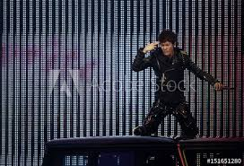 Taiwan Singer Wu Performs During The First Global Chinese