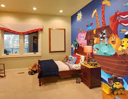 Toddler boy bedroom wallpaper