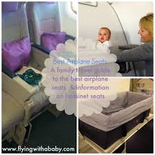 best airplane seats baby bassinet airline family travel best airplane seats