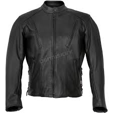 usa made vented side lace premium leather jacket