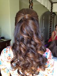 best 25 wedding hairstyles 2014 ideas on pinterest prom hair Do It Yourself Wedding Hair Down bridesmaid half up half down hairstyle (ga if up, down? do it yourself wedding hair down