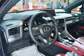 lexus rx 350 interior 2016. lexus rx 350 interior at 2016 oman motor show rx