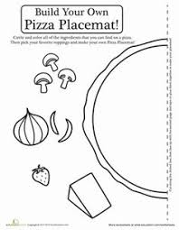 Small Picture Pizza Slice Magnet Extralarge Coloring Page Cookie Pinterest