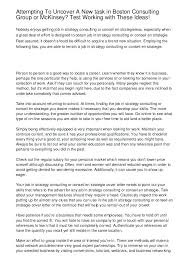 Sample Resume Consulting Consulting Cover Letter Template Sample