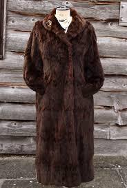 luxurious vintage fur coat large
