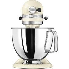 Kitchen Aid 5KSM125 EAC   Robot De Cocina Artisan Almendra De 4.8L 4  Accesorios