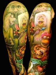 Fraggle Rock From Studio Shagoo Art Tattoos Rock Tattoo