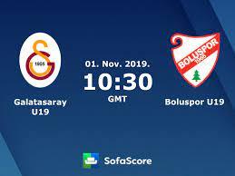 Galatasaray U19 Boluspor U19 live score, video stream and H2H results -  SofaScore