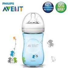 Avent Decorated Bottles SCF100100] Philips Avent Natural Bottle Decorated Monkey Design 45