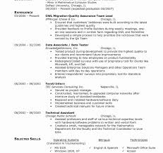 System Test Engineer Sample Resume Resume Templates Sample Format For Experienced Software Test 24