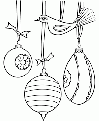 Drawn with different styles and difficulty levels. Free Coloring Pages Christmas Ornaments Coloring Page Coloring Home