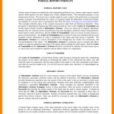 40 Lab Report Templates Format Examples 548012767028 Formal