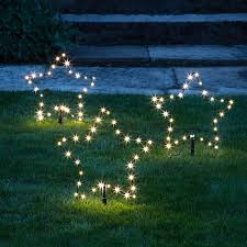 Outdoor Lighting Christmas Stars 3 Osby Star Garden Stake Lights Outdoor Christmas Xmas