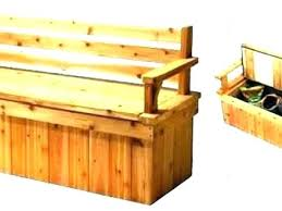 deck bench storage outdoor bench storage how to build storage bench outstanding patio deck bench plans