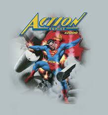 Graphitti Designs Action Comic 1000 T Shirt Deign Designed For Dc Comics