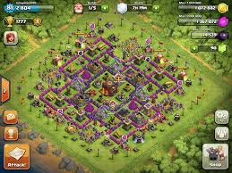 Clans Of Clans Base Design Clash Of Clans Base Designs Town Hall Level 10 Clash Of